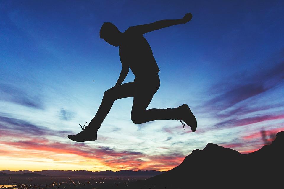 ジャンプの画像